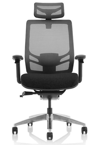 Ergo Click Fabric Seat With Headrest