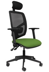 Ergo Fix Mesh High Back Office Chair - Green