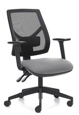 Dulce Mesh Office Chair - Grey