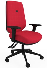 Ergo Flex Ergonomic Chair - Red