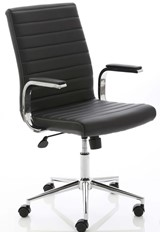 Ezra Executive Home Office Chair - Black