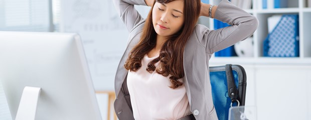 10 of The Best Desk Stretches To Do In The Office