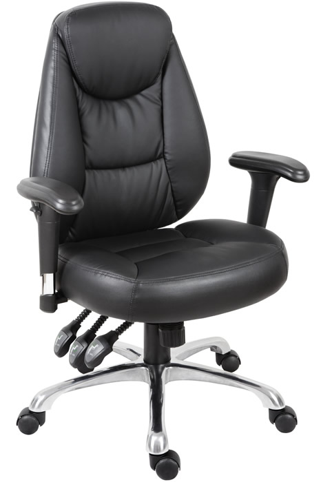 Portland Leather Office Chair