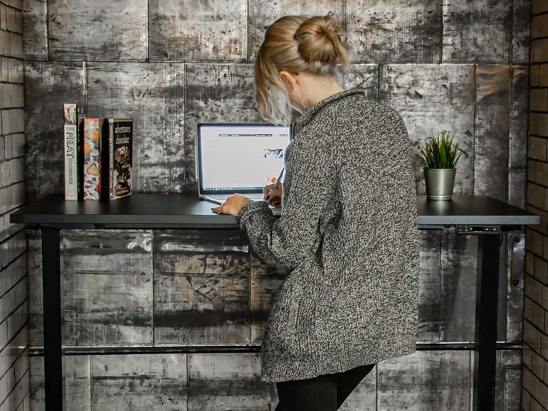 Zero Standing Height Adjustable Desk