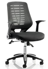 Olympia Operator Chair - Black Black