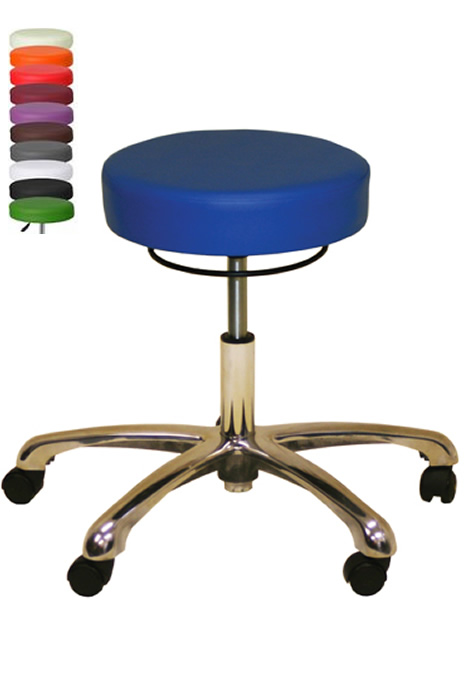 Admirable Anatomic Chrome Stool Bralicious Painted Fabric Chair Ideas Braliciousco