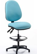 Upholstered Draughtsman Chair