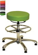 Anatomic Chrome D Ring Stool