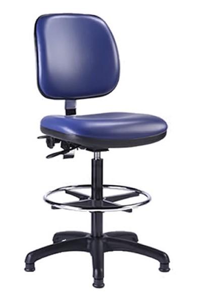 Heavy Duty Tall Laboratory Chair