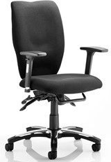 Sierra Operators Chair - Black