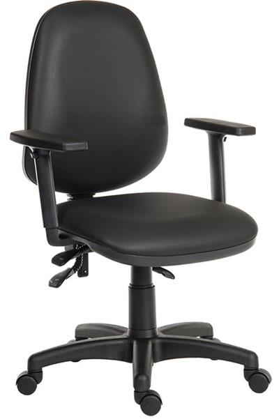 Vinyl Operator Chair