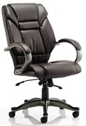 Ellie Leather Office Chair