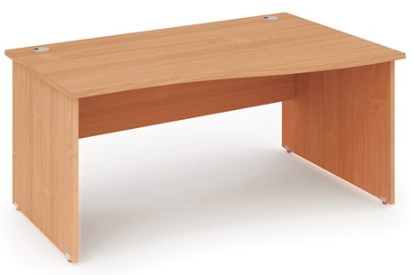 Price Point Beech Wave Desk