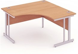 Price Point Beech Call Centre Cantilever Desk