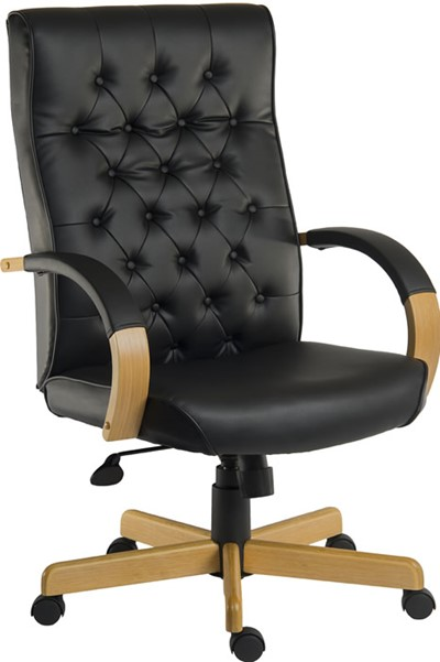 Warwick Leather Office Chair