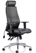 Onyx leather Office Chair