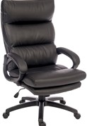 Luxe Leather Office Chair