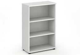 Polar White 1200mm Office Bookcase