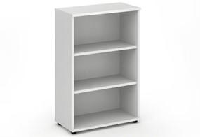 Polar White 1200mm Office Bookcase
