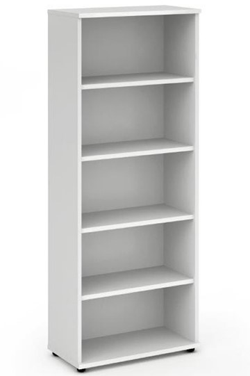Polar White 2000 Office Bookcase