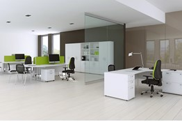 Polar White Office Range