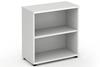 Polar White 800mm Office Bookcase