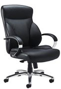 Trojan Leather Office Chair