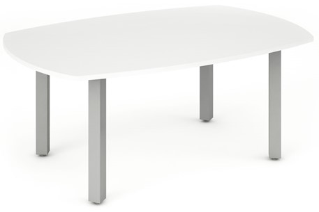 Polar White 1800mm Boardroom Table