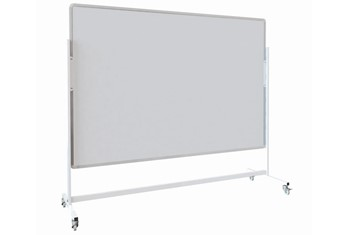 Mobile  Magnetic Freestanding Whiteboard - W900 x H600mm