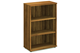 Nova Walnut 1200mm Office Bookcase