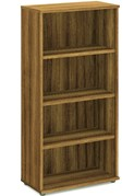 Nova Walnut 1600mm Office Bookcase