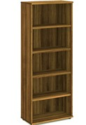 Nova Walnut 2000 Office Bookcase