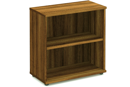 Nova Walnut 800mm Office Bookcase