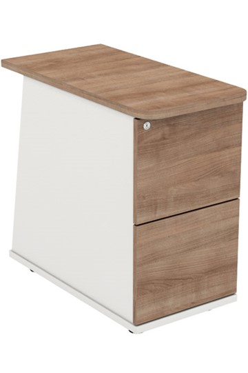 Ascend Desk High Two Drawer Pedestal