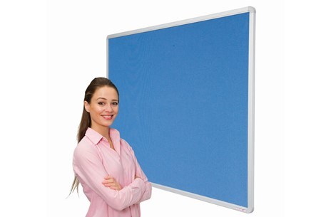 Colourtex Aluminium Frame Noticeboard