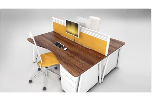 Ascend Double Wave Desk