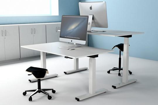 Sit Stand Rectangular Desk