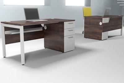 Duty Desk High Pedestal
