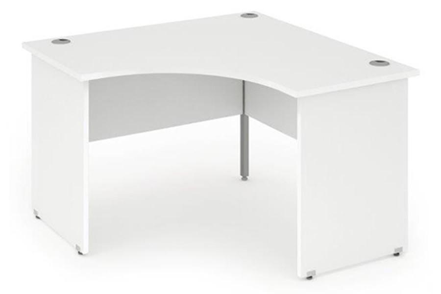 white office corner desk. Polar White Call Centre Panel Leg Desk Office Corner D