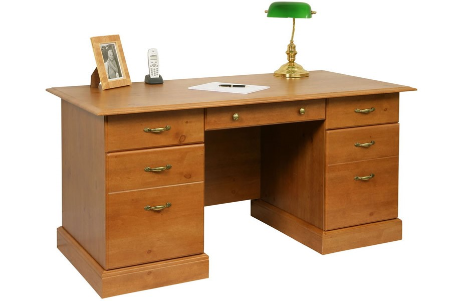 French Gardens Pine Study Desk