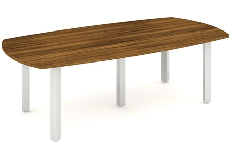 Nova Walnut 2400 Boardroom Table