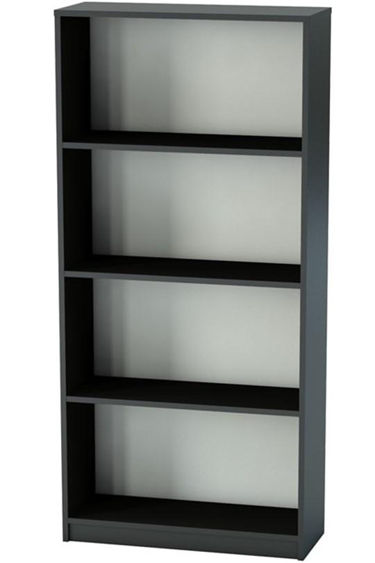 Nene Black Office Bookcase