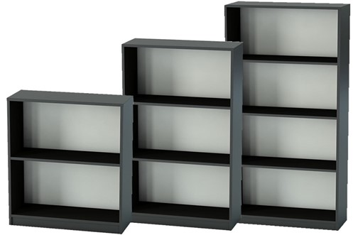Nene Black Office Bookcase