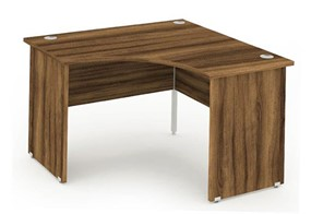 Nova Walnut Call Centre Panel Leg Desk