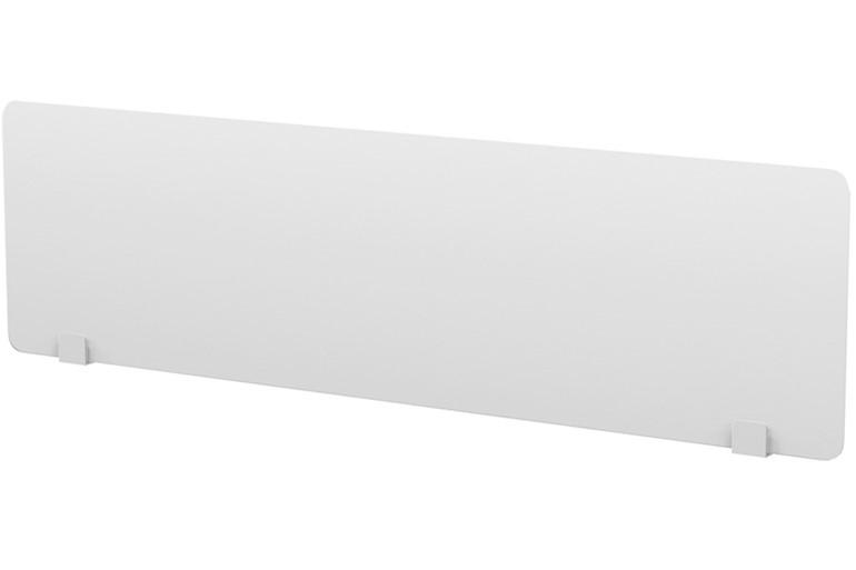 Perspex Rectangular Desk Screen