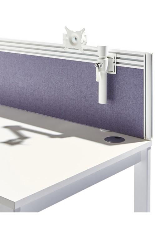 Triple Toolrail Desk Screen