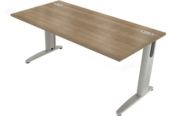 Domino Beam Rectangular Cantilever Desk - Birch 1200mm x 800mm