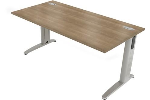 Domino Rectangular Cantilever Desk