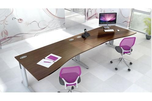 Domino Beam Wave Extension Desk