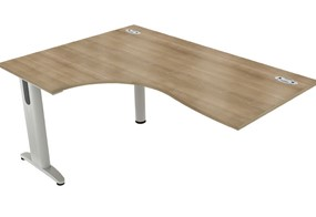 Domino Crescent Extension Desk